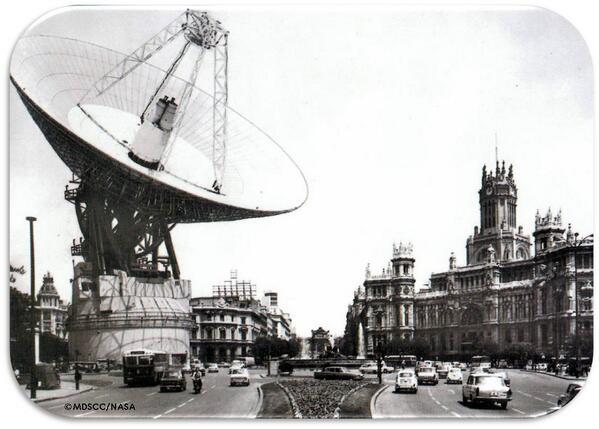 Comparativa antena Robledo de Chavela MDSCC