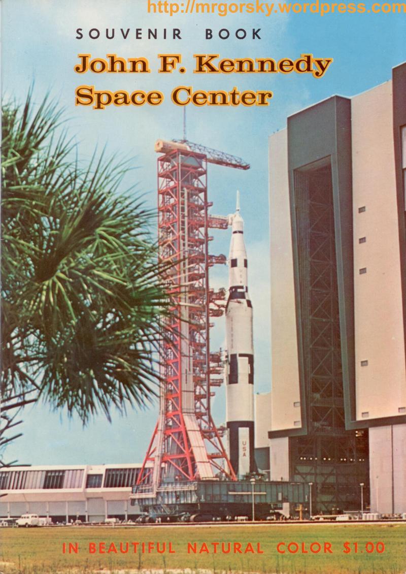 01 JFK Space Center Souvenir Book
