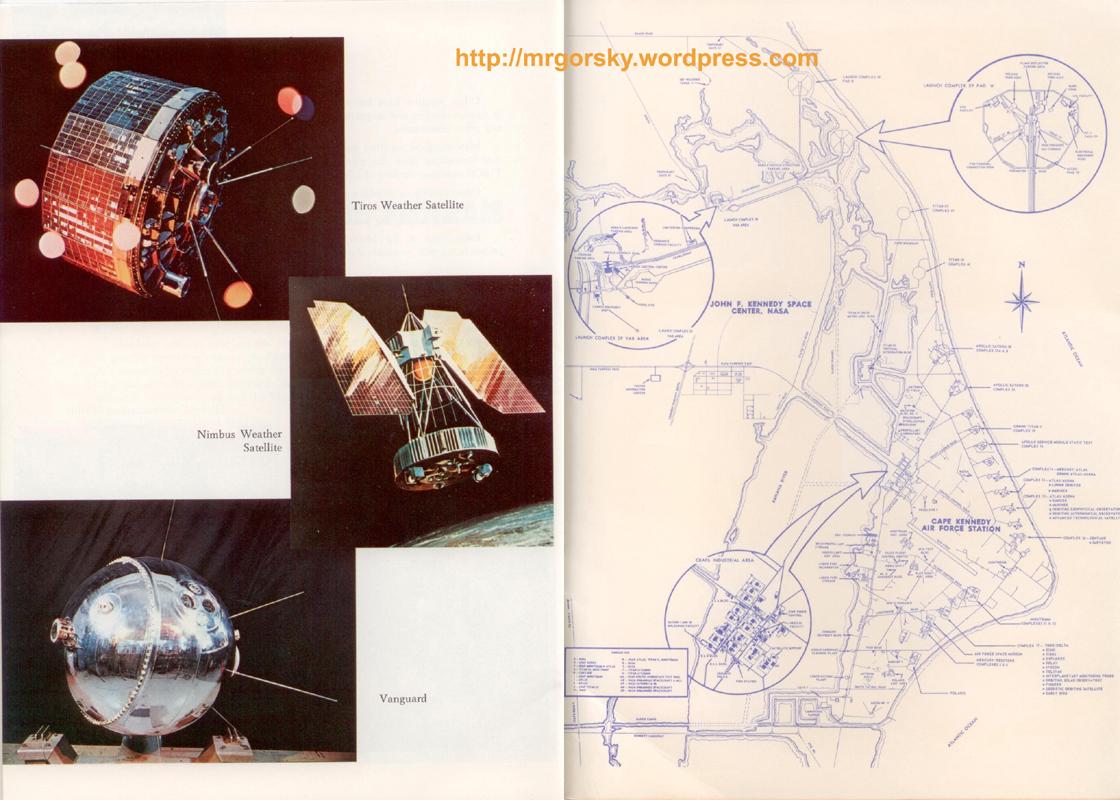 34 y 35 JFK Space Center Souvenir Book
