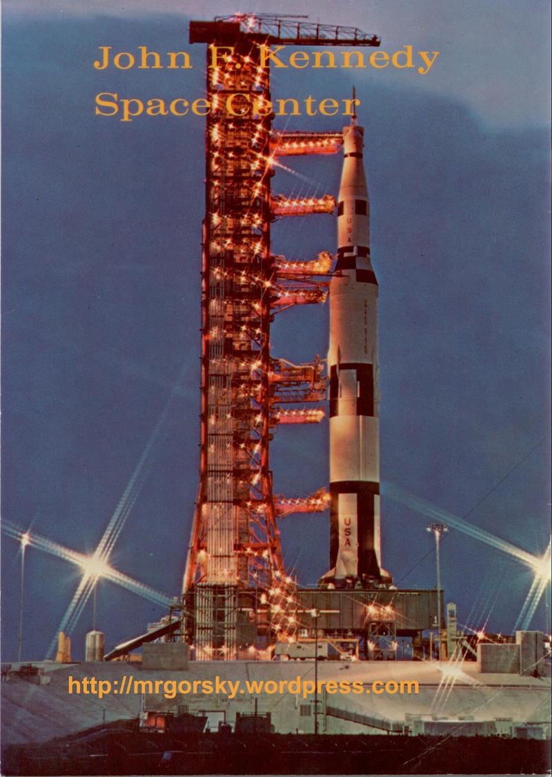 36 JFK Space Center Souvenir Book