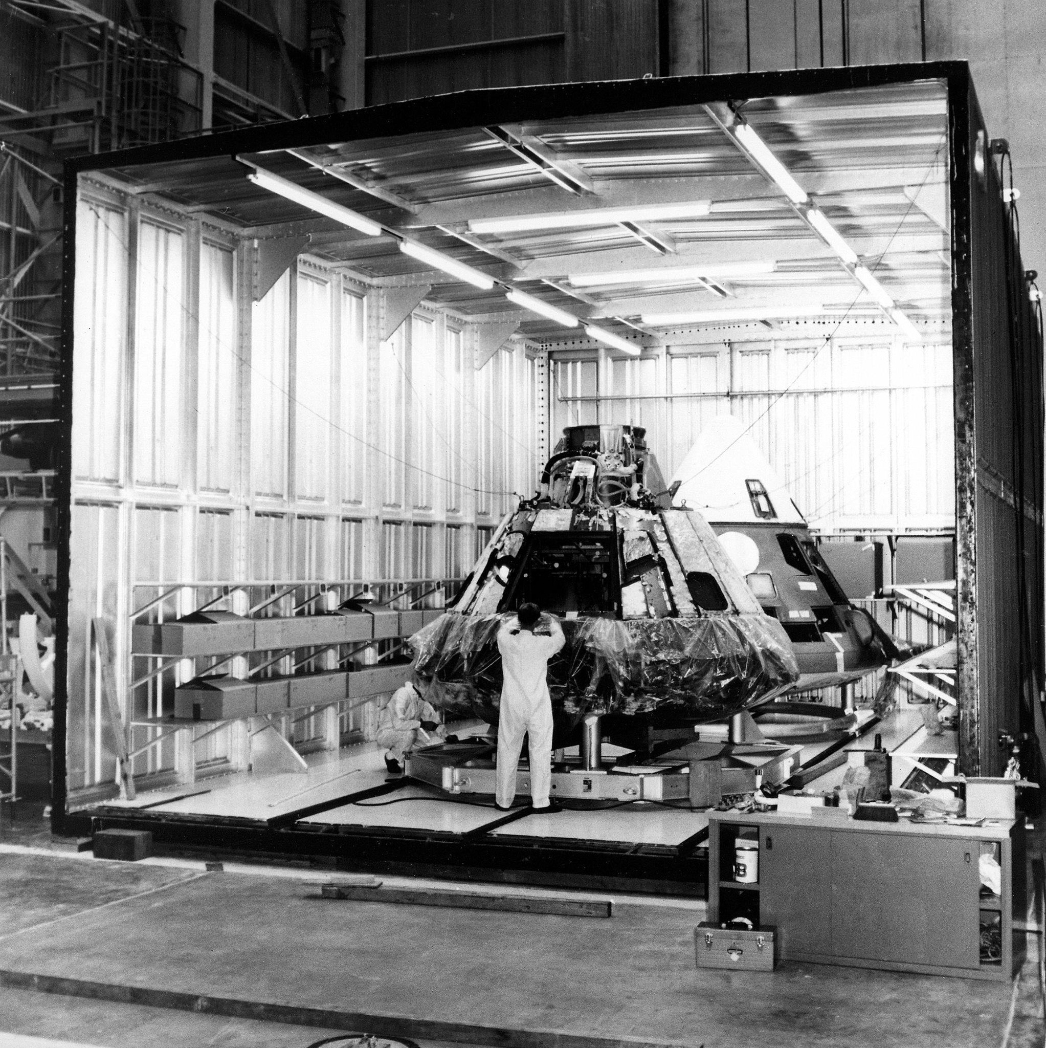 Almacenamiento del Apolo 1.
