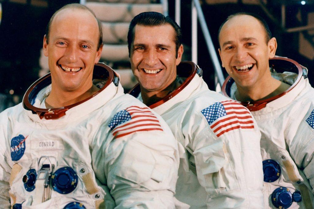 Los astronautas del Apolo 12