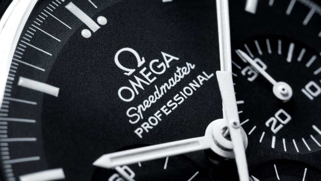 Detalle del Omega Speedmaster Professional