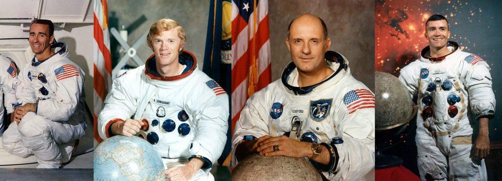Los astronautas de la serie documental Reflections de Apollospace