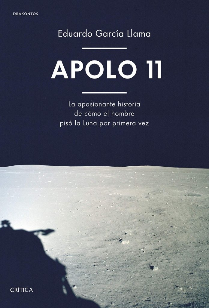 Apolo 11, por Eduardo García Llama (portada del libro).