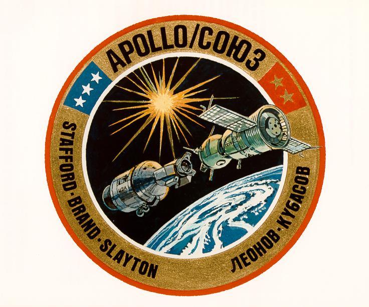 Insignia de la tripulación de la Apollo-Soyuz Test Project