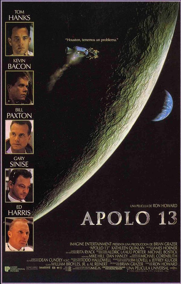 Cartel de la película Apolo 13 para España (1995).