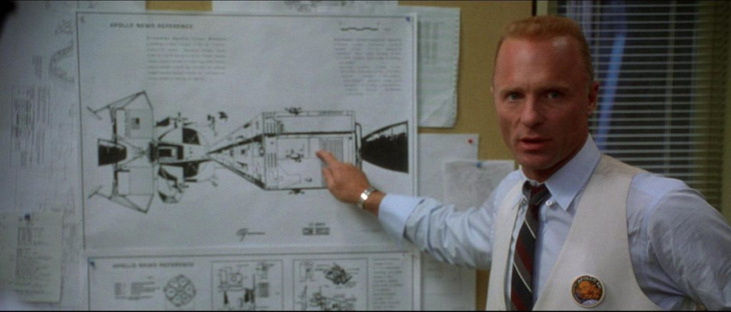 Apolo 13: Ed Harris interpretó a Gene Kranz