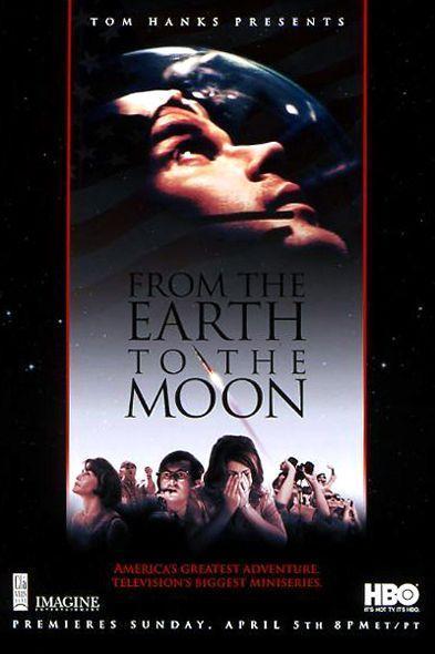 """Serie """"De la Tierra a la Luna"""" sobre el Programa Apolo (HBO)."""