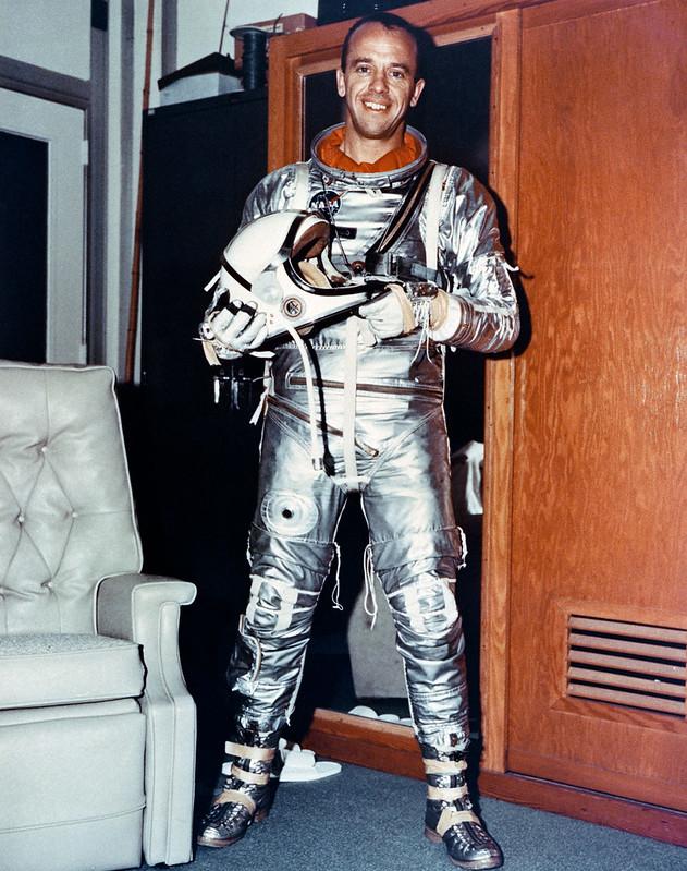 Alan B. Shepard (Foto NASA S63-02082)