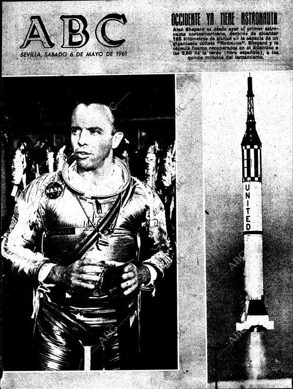 Portada del diario ABC (España) del sábado 6 de mayo de 1961. Foto ABC