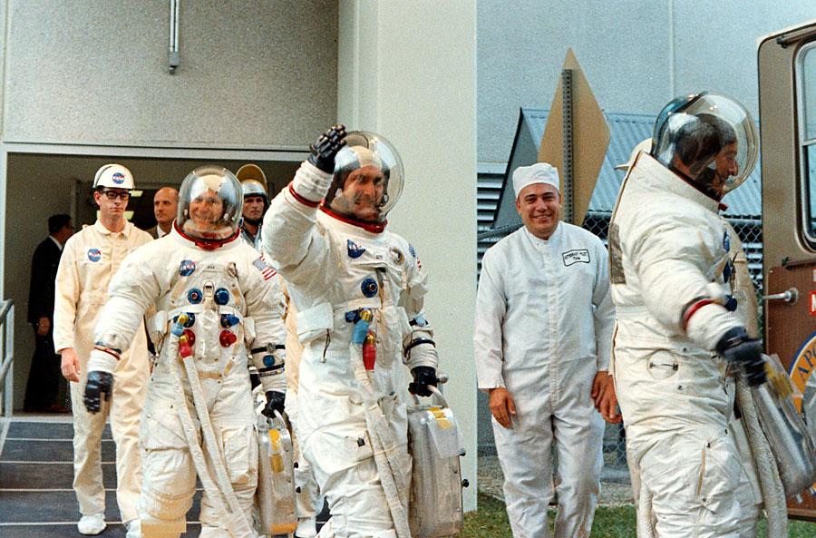 Partida del Apolo 12 rumbo a la Luna (1969)