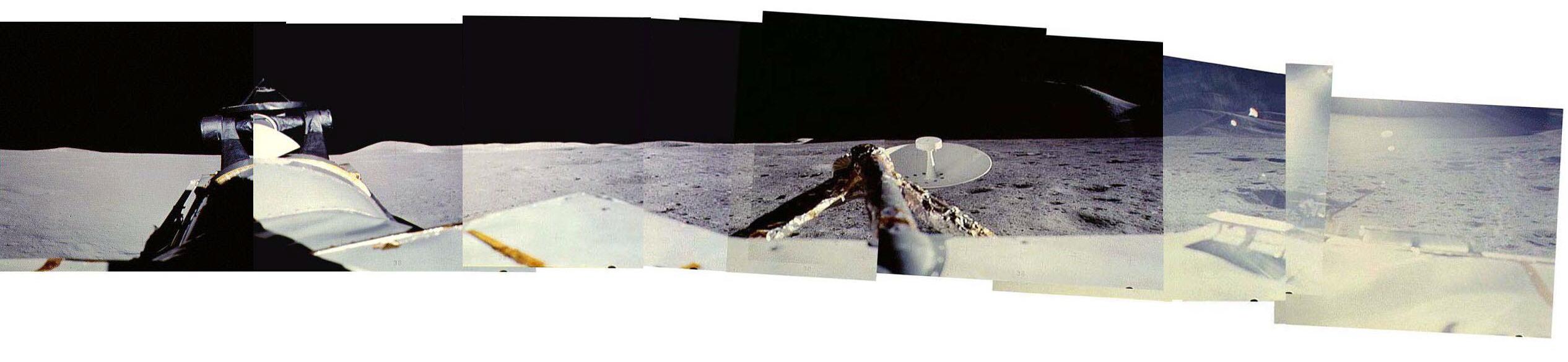 Montaje 360º con fotografías de la SEVA (a15pan1065827) - NASA